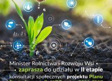 Zapraszamy do konsultacji II projektu Planu Strategicznego dla Wspólnej Polityki Rolnej